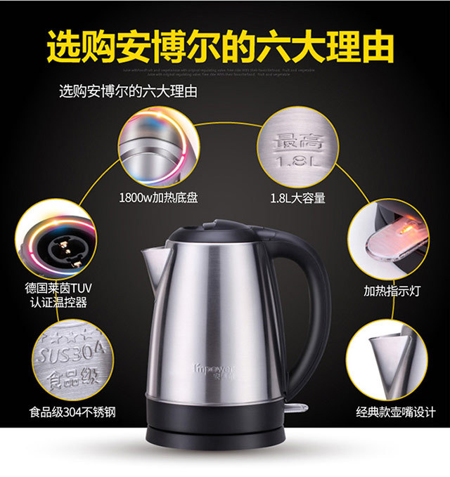 安博爾電熱水壺18D157(圖8)