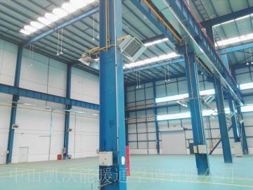 包头金属园区厂房使用高密度陶瓷板式产品