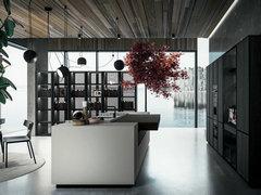 MITON CUCINE意大利顶级品牌   AMARI系列色彩与工艺的完美重构