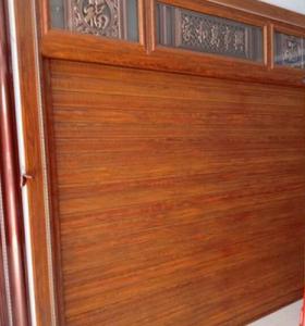 帶包邊木紋卷閘門