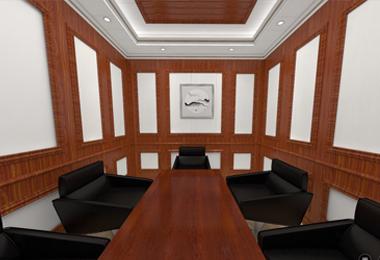 中式大气会议室