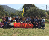 The company organizes spring picnic activities for employees!