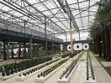 大连嘉威生态园使用低密度管式正压辐射采暖设备(LTS系列)