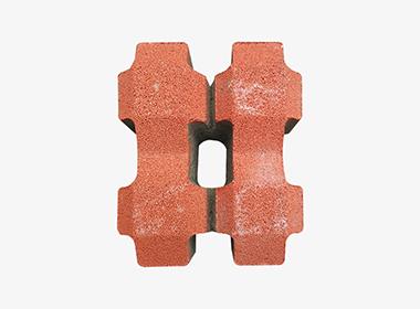 井字型透水植草砖