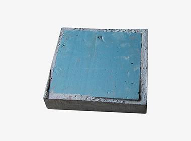 挤塑板隔热砖背面