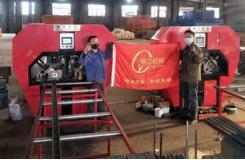 银江槽钢数控自动冲孔机项目案例