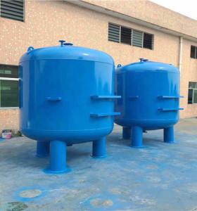 碳鋼襯膠砂濾器