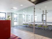 玻璃隔断安装,简合鲁班墙19年专注做隔断行业