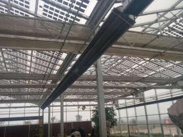 河南華盛綠能溫室大棚供暖工程使用低密度管式正壓輻射采暖設備(LTS系列)