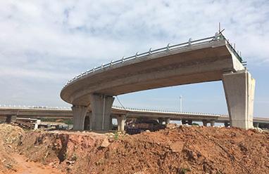 桥梁在建案例