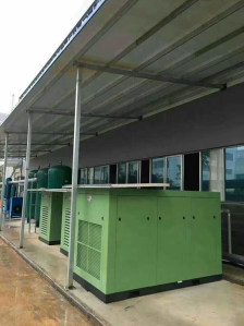 新能源公司132KW空压机系统