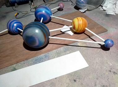 道具雕塑制作