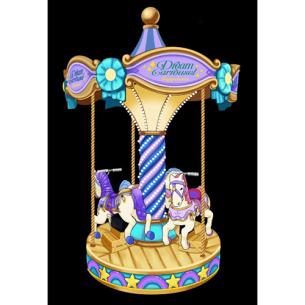 三人轉馬 3 seater carousel