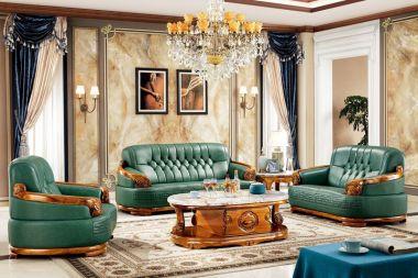 SF605沙发 1+2+3 CJ635茶几
